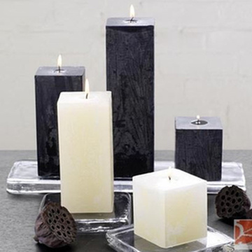 Factory best selling for Silver Candles Craft Candles Flameless Pillar Candles supply to Russian Federation Wholesale