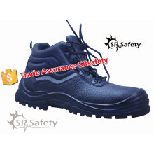 SRSAFETY new style industrial safety shoes leather shoessteel toe safety shoes equipment