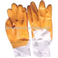 Перчатка нитрила работая