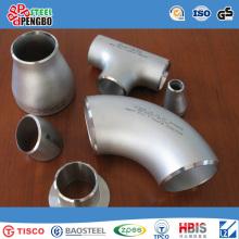 Raccords de tuyaux en acier inoxydable Accentric Coude