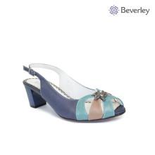 Beverley colorful buckle fish head fashion lady sandal