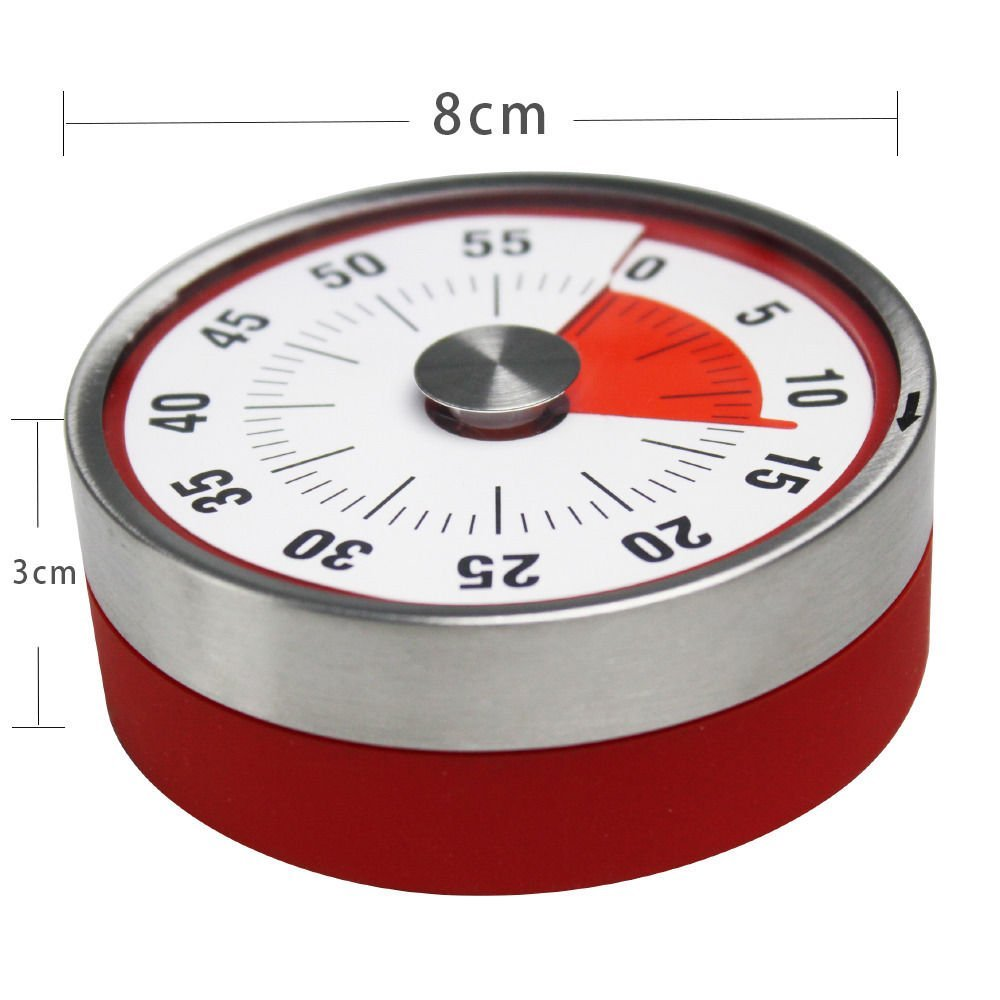 Fridge Magnet Mechanical Kitchen Timer