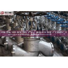 Válvula de globo de acero inoxidable Dn200