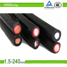 Proveedor de cables solares AC0.6 / 1kv, DC1.8kv PV1-F en China