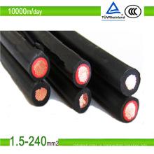 Одобренный UL красный соединительный кабель для солнечных батарей с изоляцией из сшитого полиэтилена
