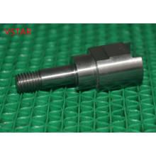 Часть CNC подвергая механической обработке соединения, изготовлены из нержавеющей стали высокой точности