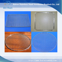 High Quality Stainless Steel Square Construction Barbecue Wire Mesh Factory