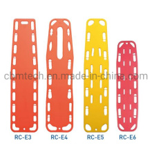 Medical First Aid HDPE Plastic Ambulance Spinal Emergency Floating Water Spine Board