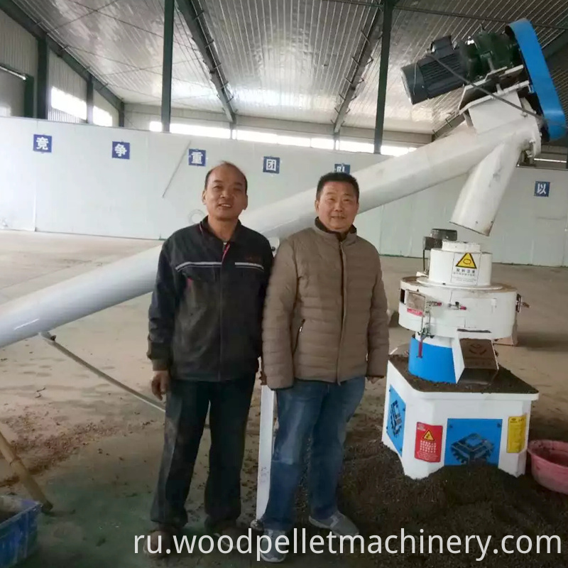 customer case of wood pellet mill