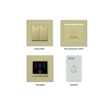 Nuovo design Touch Switch in plastica per Hotel RCU