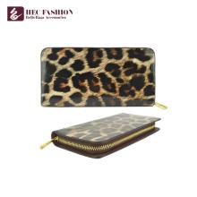 HEC Luxury Design Long Zipper Big Capacity Mujeres Cash Wallet