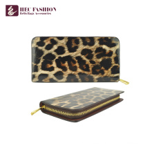 HEC Luxury Design Long Zipper Big Capacity Women Cash Wallet