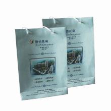 Saco de compra de portador de presente de papel impresso de cor (SW411)