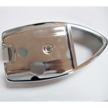 OEM threaded blind metal flange with surface treatment