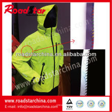 ruban adhésif coloré passepoil réfléchissant pour vêtements de sport