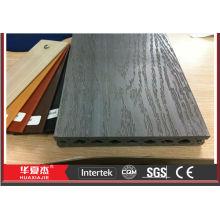 Composto decking China madeira composto plástico decking língua e groove composite decking