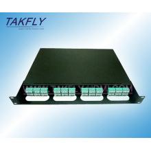 Módulo de la casilla de la fibra MPO de la alta calidad 1u 19 pulgadas MPO
