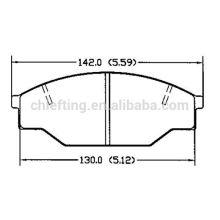 D303 for Opel ceramic disc brake pads
