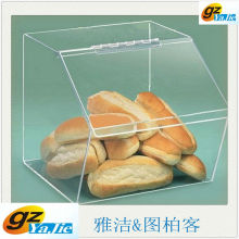 High Quality Crystal Clear Acrylic Food Display Box