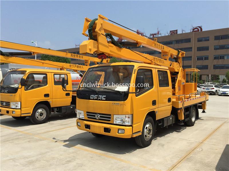 aerial working platform truck 2