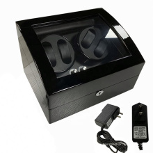 Wooden Watch Winder Electronic Watch Display Automatic Winder