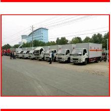 4X2 LHD Rhd personalizou o caminhão da carga do corpo da cremalheira do corpo da estaca