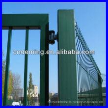 Puerta revestida del metal del polvo (fabricante y exportador)