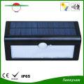 4000mAh 36 LED Triangle Solaire Motion Sensor Wall Wall Light