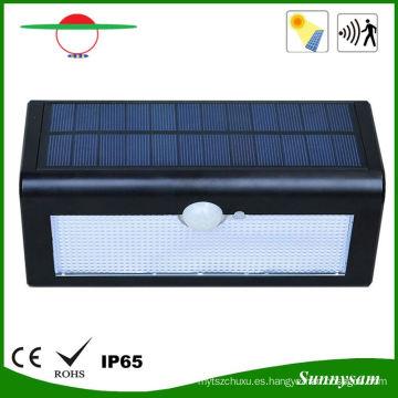 500lm 36 LED luz de pared del sensor solar inalámbrico accionado solar luz solar impermeable del jardín