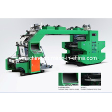 Machines d'impression flexographique haute vitesse à 4 couleurs