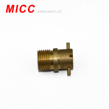MICC thermocouple adapter/adjustable adapter (brass compression fitting)