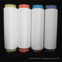 Polyester DTY Filament 300d / 96f Nim Fancy Yarn