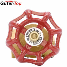 Guten top brass gate valve cast iron stem gate valve