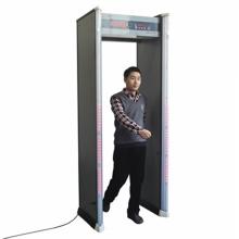 Sensor de alta sensibilidade de 6 zonas através do detector de metais