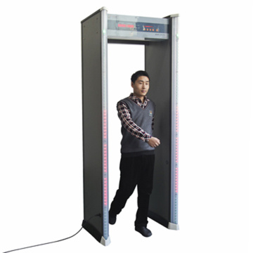 Detector de metales de alta sensibilidad de 6 zonas