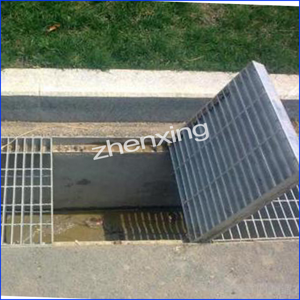 Zinc Coated Drain Cover