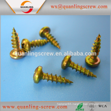 Alibaba china wholesale flat head black electrophoresis chipboard screw