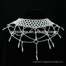 Necklacce de petites perles FashionMe 2013