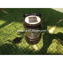 Levou lanterna solar com carregador de telemóvel alta eficiência silício policristalino