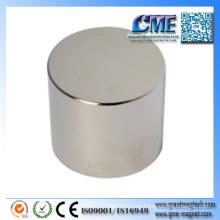 Imanes de cilindro imán de neodimio de grado más alto para la venta