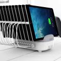 ORICO 120W 10 puertos estación de carga USB con soportes (DUK-10P)