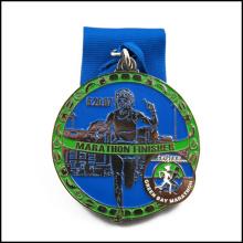 Металлическая медаль цветастого спорта, медаль эмали (GZHY-JZ-021)