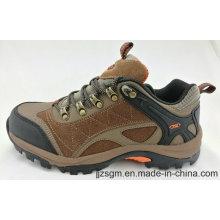 Los hombres de seguridad de cuero de escalada zapatos al aire libre