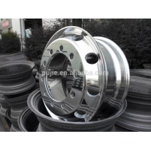 Forged Aluminum Wheel Rims 22.5*8.25 Polished for Bus Truck