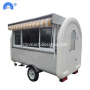 Snack Machinery Food Trailer Truck For Sale