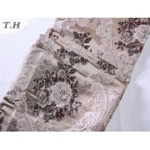 Tissu 100% polyester tissé pour motifs en tissu Jacquard (FTH32084)
