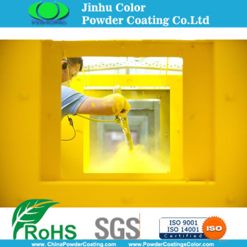 Construction electrostatic paint coating