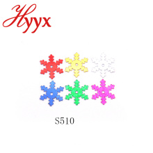 HYYX Grande Atacado de alta qualidade 25mm grande floco de neve / confetti estrela