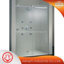 Quincaillerie à portes coulissantes en acier inoxydable à sécurité en acier