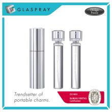 KIRA Silver 20ml Refillable Parfum Spray Bottle